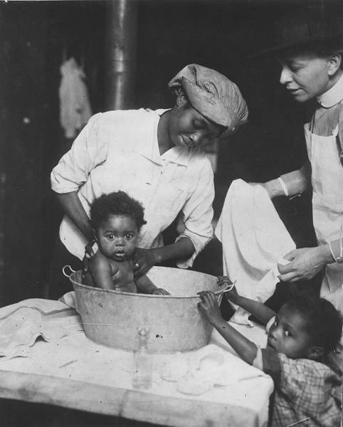 African American Museum Photograph - Infant Care by Chicago History Museum