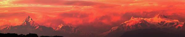 Wall Art - Photograph - Infernal Sunset by Edmund Khoo Photography