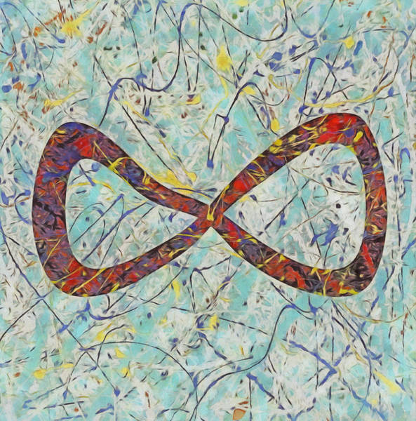 Wall Art - Painting - Infinite by Dan Sproul