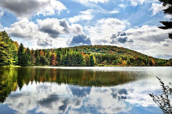 Photograph - Infinite Grace Reflection Landscape by Christina Rollo