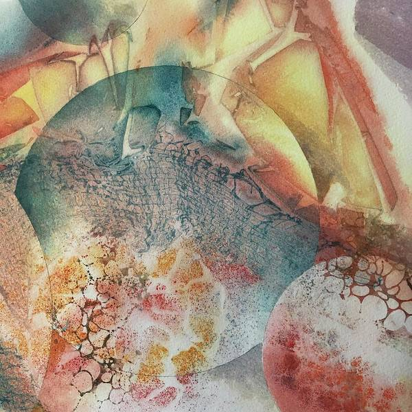 Painting - Infinite Worlds by Tara Moorman
