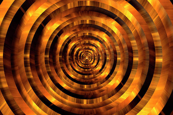 Wall Art - Photograph - Infinity Tunnel Circles The Light At The End Of The Tunnel by Pelo Blanco Photo
