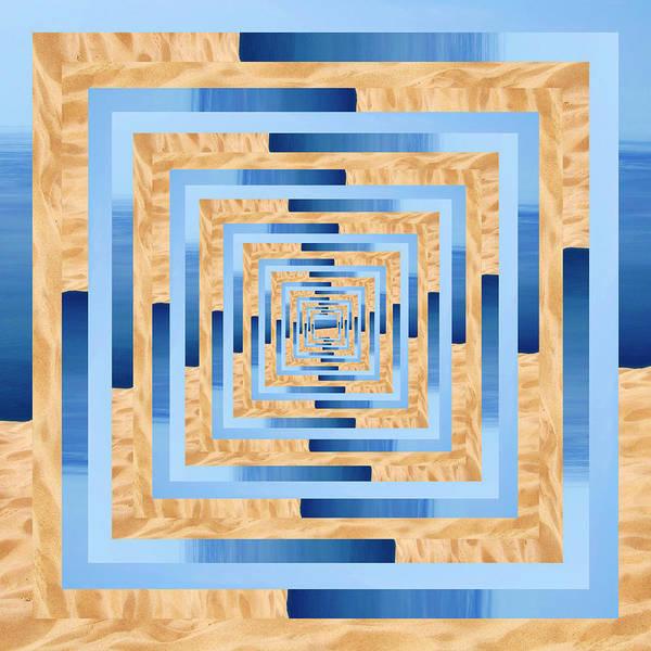 Wall Art - Photograph - Infinity Tunnel Lake Mi Sand Dune by Pelo Blanco Photo
