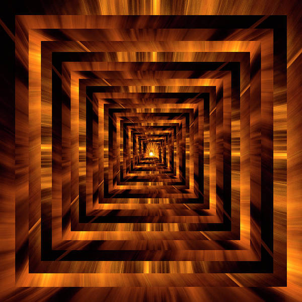 Wall Art - Photograph - Infinity Tunnel The Light At The End Of The Tunnel by Pelo Blanco Photo