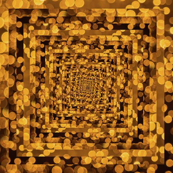 Wall Art - Photograph - Infinity Tunnel Yellow Dots by Pelo Blanco Photo