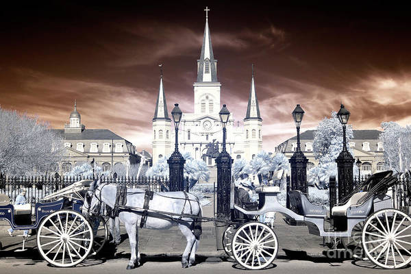 Photograph - Infrared New Orleans Wonders by John Rizzuto