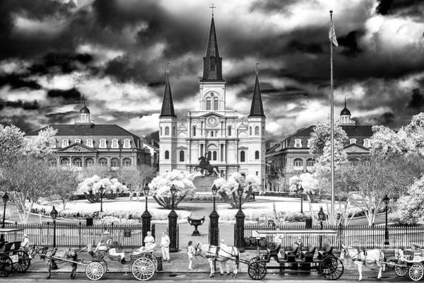 Photograph - Infrared Wonderful World Of New Orleans by John Rizzuto