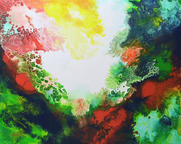 Painting - Infusion 2 by Sally Trace