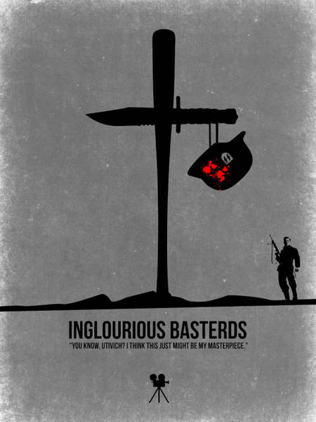 Wall Art - Digital Art - Inglourious Basterds by Naxart Studio