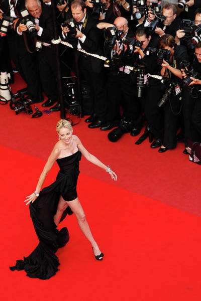 Dress Photograph - Inglourious Basterds Premiere - 2009 by Sean Gallup