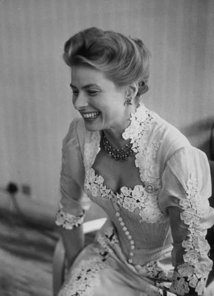 Photograph - Ingrid Bergman by Thurston Hopkins