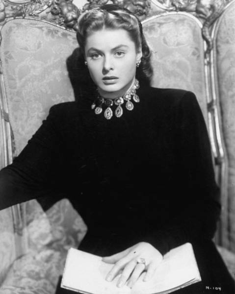 Photograph - Ingrid Bergman by Time Life Pictures