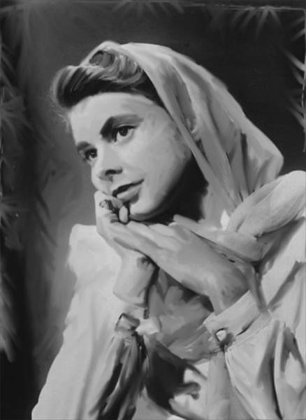 Bogart Digital Art - Ingrid by Fred Foster