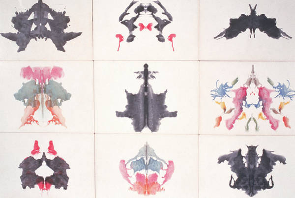 Wall Art - Photograph - Ink Blot Tests by Spencer Grant
