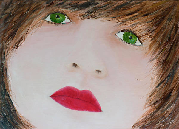 Painting - Innocence by Dee Browning