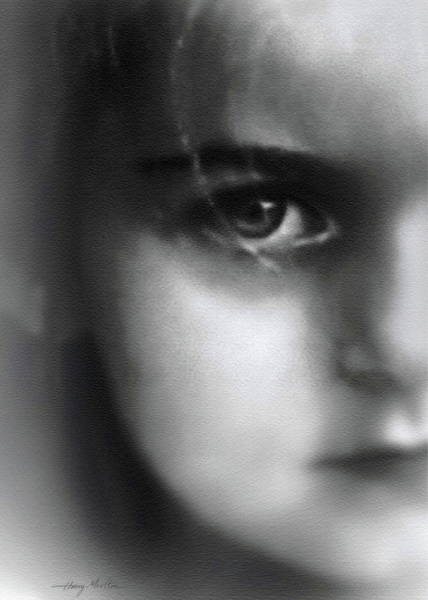 Photograph - Innocence by Harry Moulton