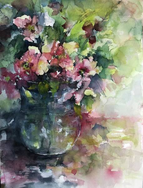Painting - Innocent Elegance by Robin Miller-Bookhout