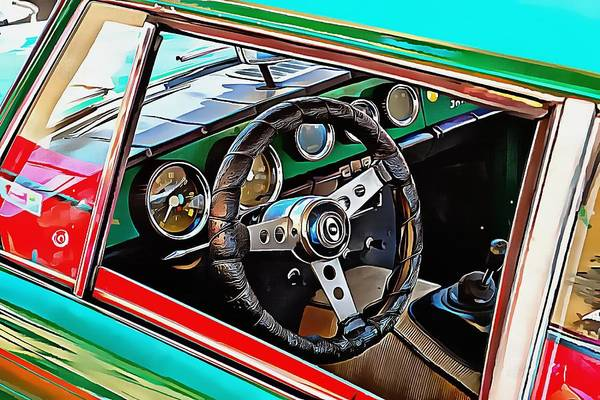 Photograph - Innocenti C Through The Window by Dorothy Berry-Lound
