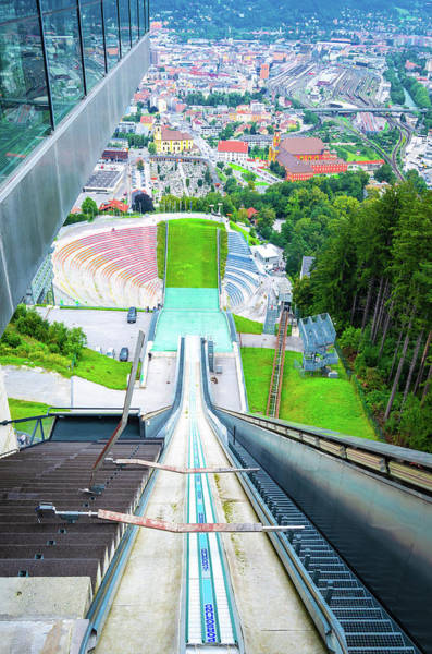 Photograph - Innsbruck Ski Slope by Borja Robles