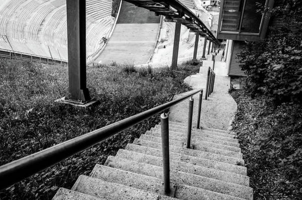 Photograph - Innsbruck Stadium Stairs by Borja Robles