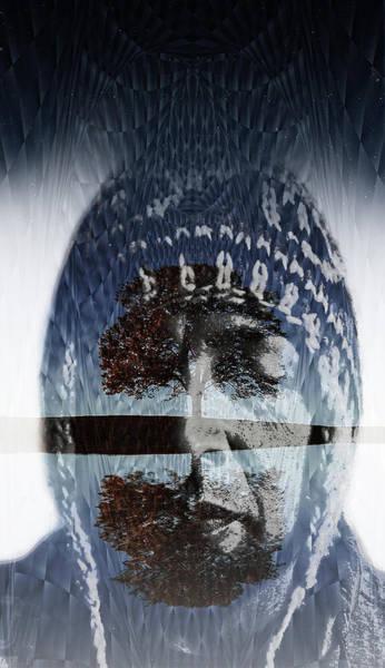 Shaman Digital Art - I.n.s.i.d.e.  G.a.r.d.e.n by J  - O   N    E - 1