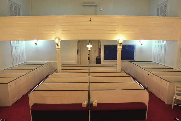 Photograph - Inside Gillisonville Baptist Church Ridgeland South Carolina by Lisa Wooten