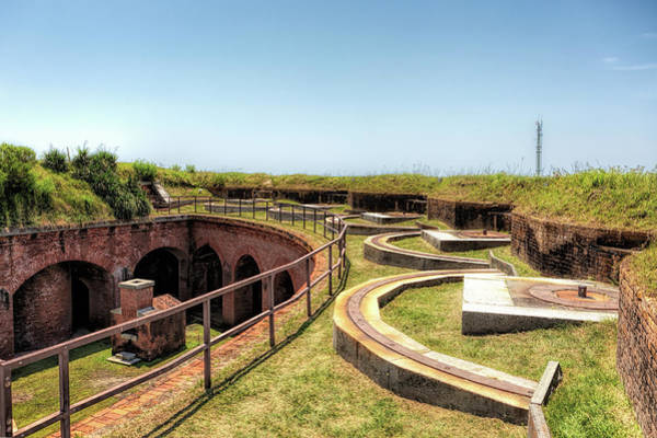 Photograph - Inside Historic Fort Massachusetts by Susan Rissi Tregoning