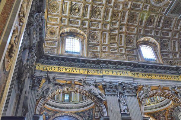 Photograph - Inside St Peter's by JAMART Photography