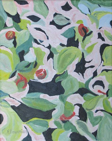 Wall Art - Painting -  Inside The Apple Tree by Francois Fournier