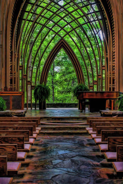 Photograph - Inside The Chapel by Patricia Cale