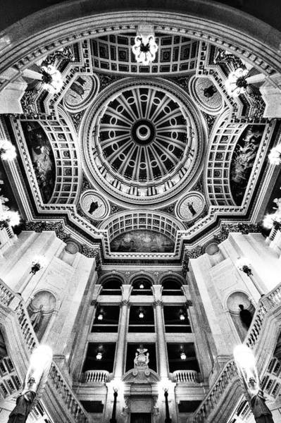 Photograph - Inside The Pennsylvania Capital Rotunda by Paul W Faust - Impressions of Light