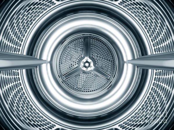 Wall Art - Photograph - Inside The Steel Drum Of A Washing by Jazzirt
