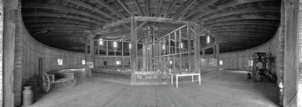 Wall Art - Photograph - Inside View Of A Barn, Hancock Shaker by Panoramic Images