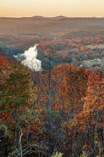 Photograph - Inspiration Point Scenic Overlook - Ozark Mountain Landscape by Gregory Ballos