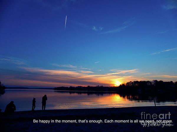 Photograph - Inspirational Sunset Message by Amy Dundon