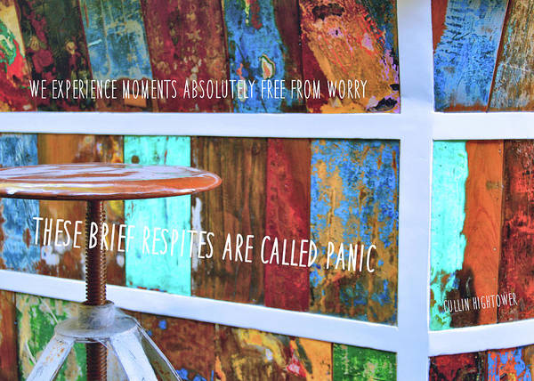Photograph - Inspired By Color Quote by Jamart Photography