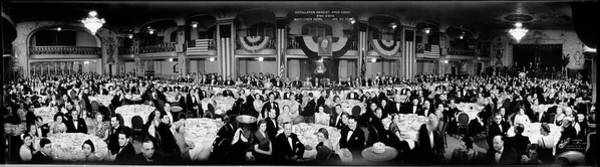 Wall Art - Photograph - Installation Banquet, Argo Lodge, Bnai by Fred Schutz Collection