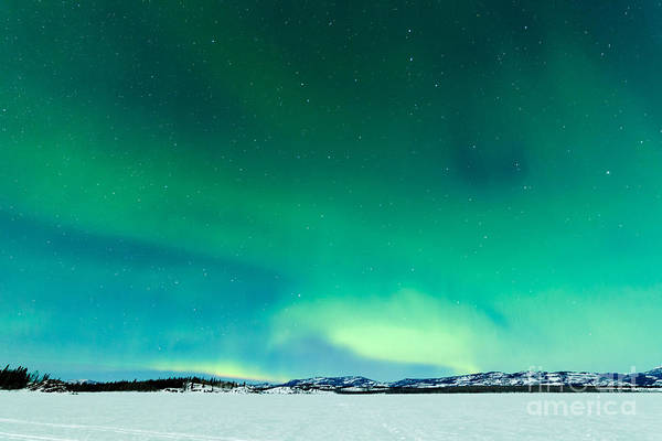 Wall Art - Photograph - Intense Northern Lights Or Aurora by Pi-lens