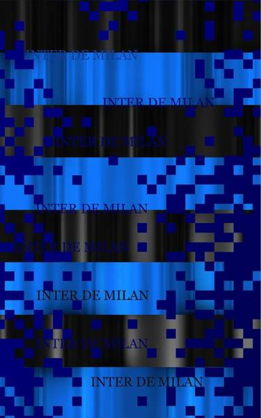 Digital Art - Inter De Milan Pixels by Alberto RuiZ