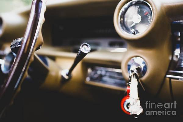 Photograph - Interior And Dashboard Of An Am by Joaquin Corbalan
