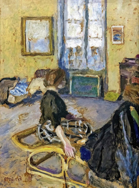 Wall Art - Painting - Interior - Digital Remastered Edition by Pierre Bonnard