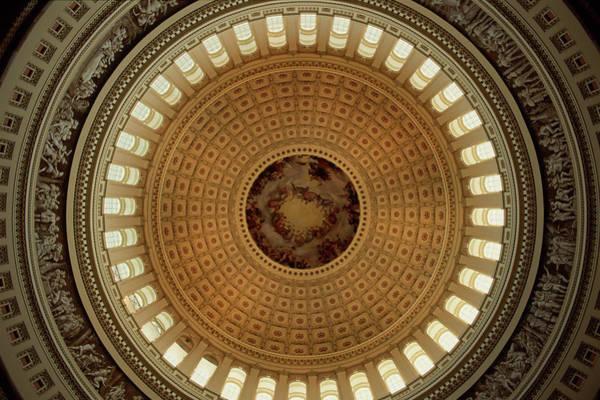 Rotunda Photograph - Interior Of Rotunda At United States by Hiroyuki Matsumoto