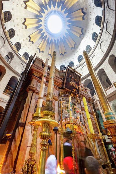 Wall Art - Photograph - Interior Of The Church Of The Holy by Gavin Hellier / Robertharding