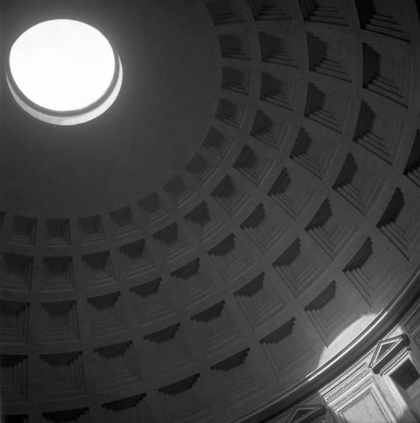 Pantheon Wall Art - Photograph - Interior Of The Pantheon by Victor Spinelli