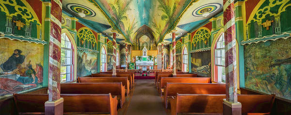 Wall Art - Photograph - Interiors Of A Church, St. Benedicts by Panoramic Images