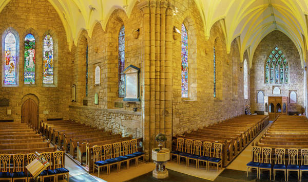 Wall Art - Photograph - Interiors Of Dornoch Cathedral by Panoramic Images
