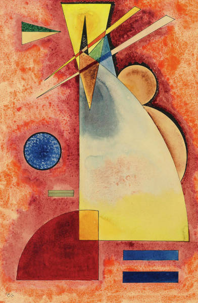 Wall Art - Painting - Intermingling, 1928 by Wassily Kandinsky