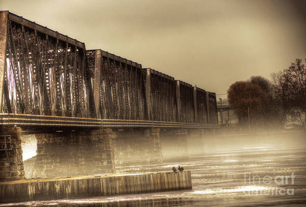 Photograph - International Bridge by Jim Lepard