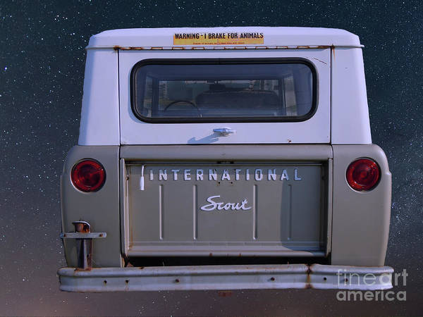 Photograph - International Scout 800 by Dale Powell