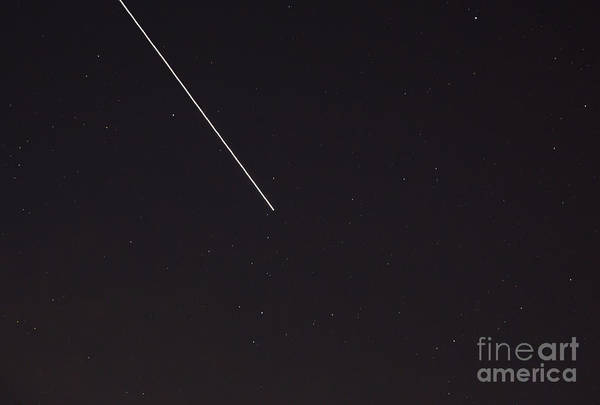 Photograph - International Space Station by Kevin McCarthy